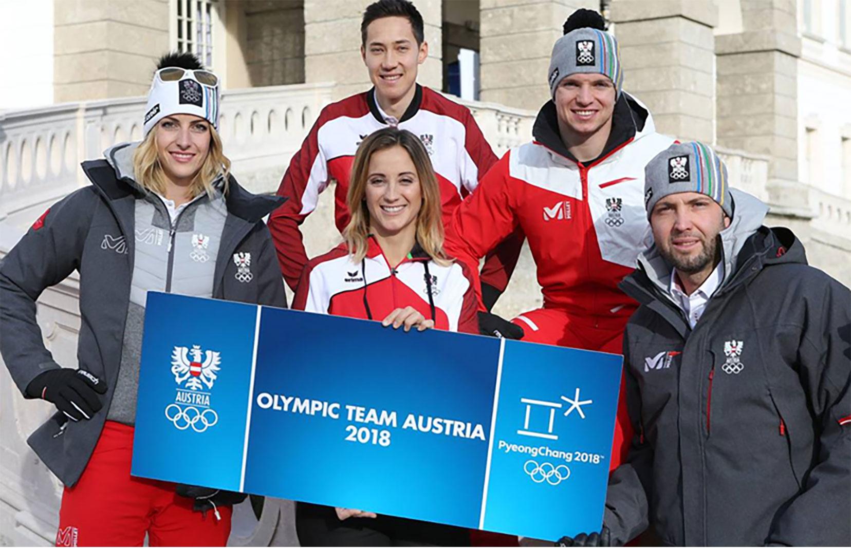 Eisbär Offizieller Ausstatter des Olympiateams